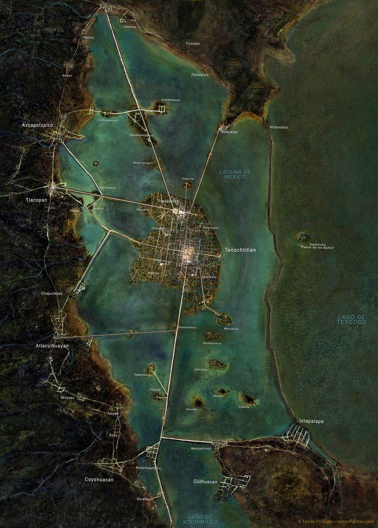 Tenochtitlan y Anexas