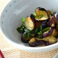 夏の旬菜【なす】をたっぷり!主菜・副菜・常備菜レシピ集めました