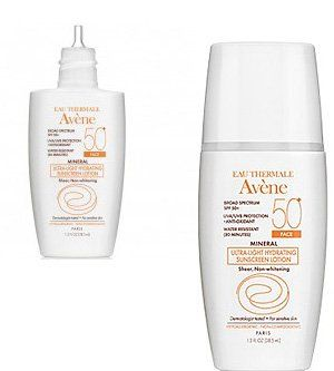 Avene Mineral SPF 50+ Ultra-light Hydrating Sunscreen Lotion for the Face, 1.3 Fluid Ounces  //Price: $ & FREE Shipping //     #hair #curles #style #haircare #shampoo #makeup #elixir