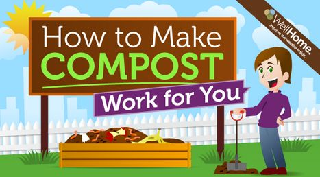 Making Compost. This would work better for us if the dogs didn't dig in the compost pile. The material we get decomposes, but doesn't heat enough to kill weed seeds, grub larvae, etc. Note to self: get a fence for the compost pile!