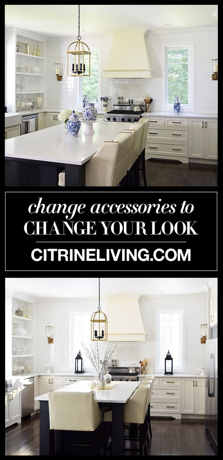 CHANGE ACCESSORIES TO CHANGE YOUR LOOK