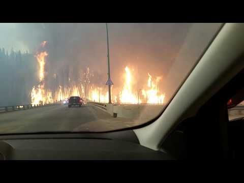 2016 Fort McMurray fire - YouTube