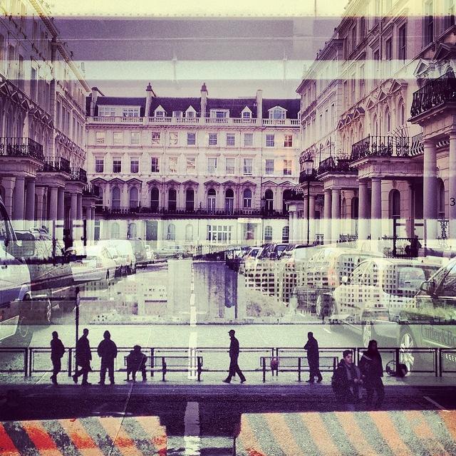 New York + London / beautiful double exposures by Daniella Zalcman #nyc #london #photography