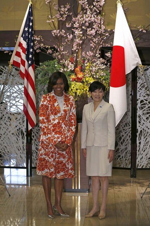 【ELLEgirl】ミシェル・オバマ大統領夫人が来日! Let Girls Learnとは?|エル・ガール・オンライン