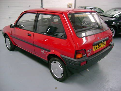 1993 rover metro quest 1.1l red