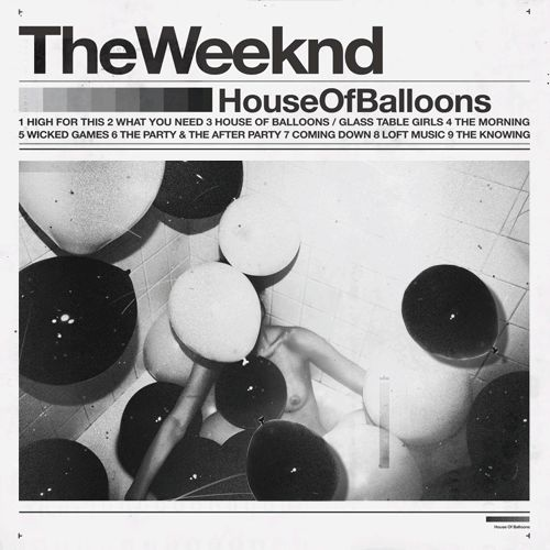 The Weeknd, House of Balloons | 25 Album Covers That Are Better As Animated GIFs