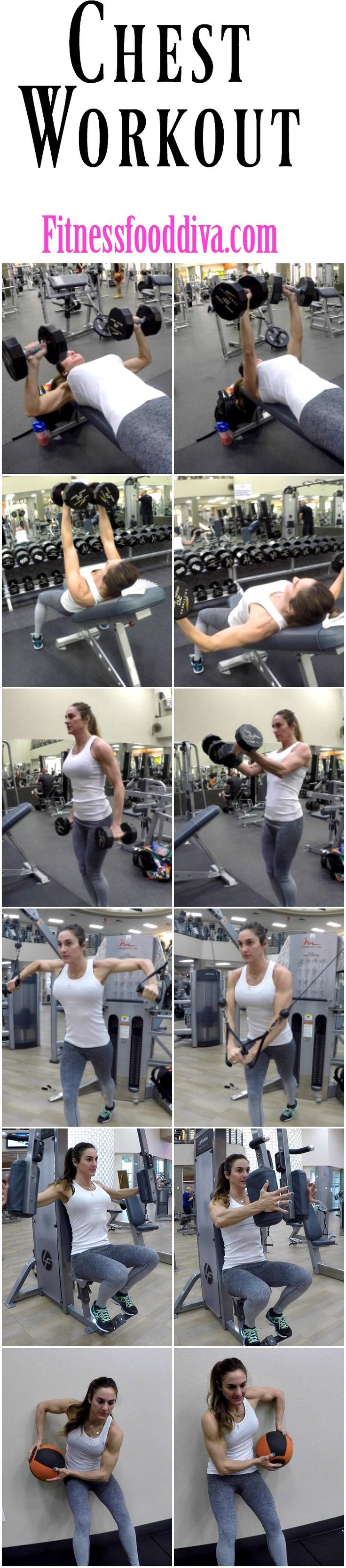 DON'T forget to work your CHEST.  Free workout on the BLOG.