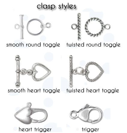 different styles of vintage clasps - Google Search