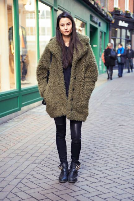 Wild & wooly #streetstyle
