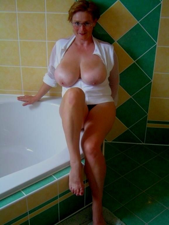Beautiful big tit milf fucks to pay her bills