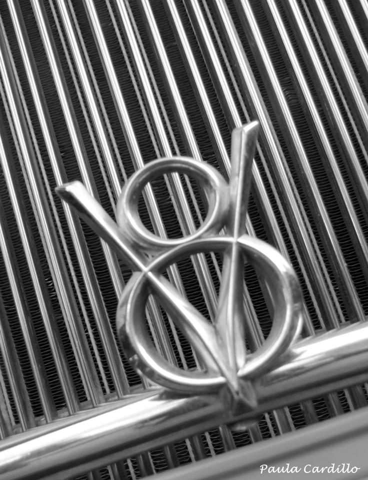 Old V-8 Ford Emblem