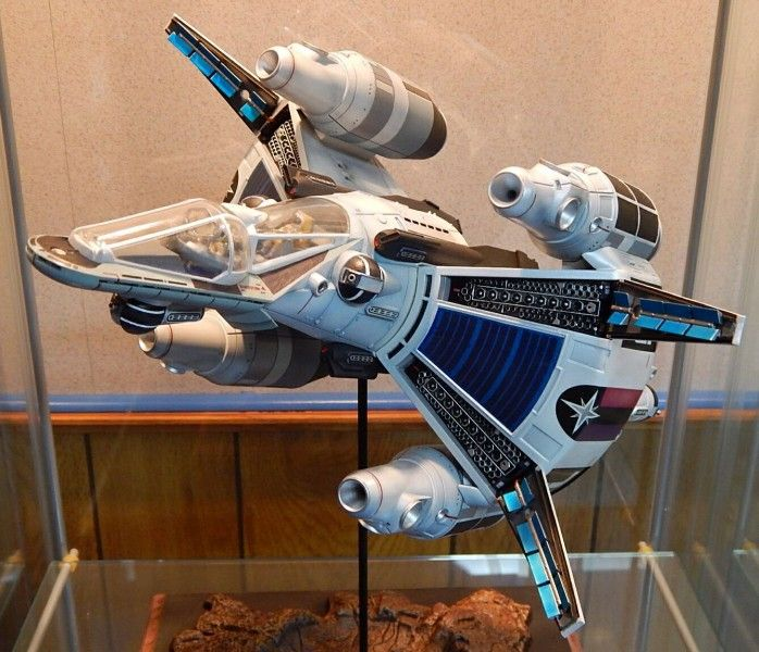 From trailer park kid to hero of the galaxy, Alex Rogan saves Earth and the Star League from the traitorous Xur with help of his pilot, Grig, in their Gunstar. Duncan Scott provides us with his wonderful build of Alex's space fighter.
