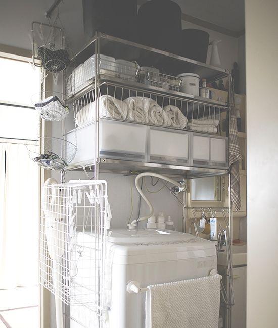 整理収納コンサルタントの本多さおりさんに教わる、片付け術の特集をお届けしています。[mokuji] 本日は、更新3日目。ランドリーの収納についてお届けします。 ランドリーの生活感を