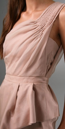 I love the pintuck detail on the Camilla and Marc Pandora dress