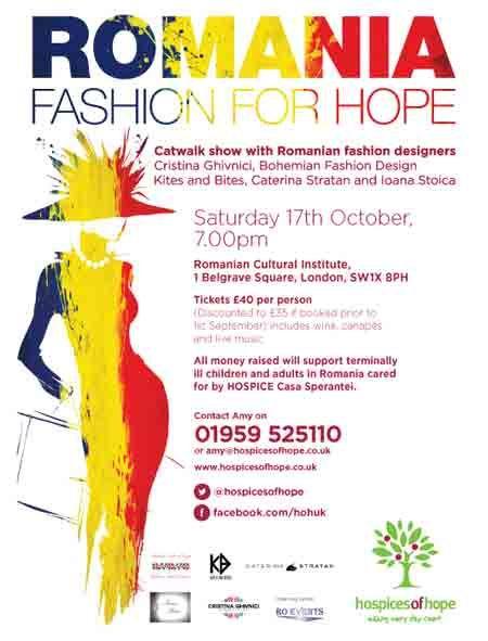 Romania Fashion for Hope