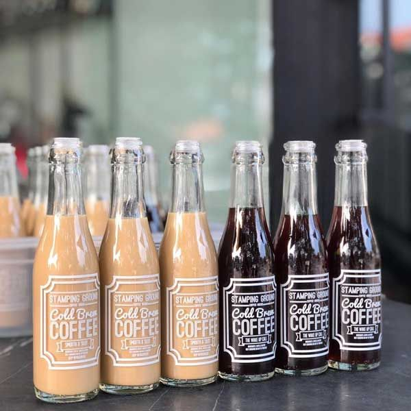 Glass Bottles Of Cold Brew Coffee Coffee Photography In 2020 Coffee Delivery Coffee Photography Best Coffee