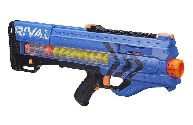 nerf gun rival | Nerf Rival Blasters: Red vs Blue | Nerf Gun Attachments