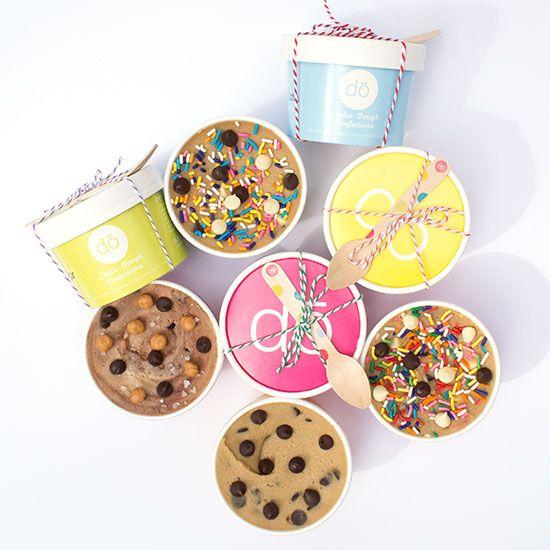 So long, salmonella.DŌ founder Kristen Tomlan has found a way to create delicious cookie dough confec