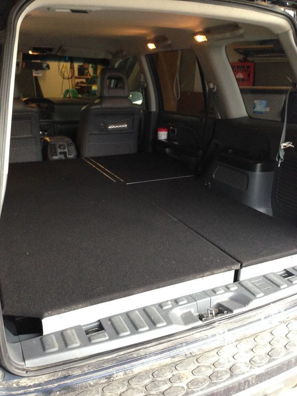2004 Honda Pilot Camper Conversion Vanlife Storage The Thought Of Living Off Grid Is Charming And Romantic To Many Honda Pilot Camper Conversion Road Trip Life