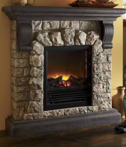 Stones For Fireplace: Best 25+ Faux Stone Fireplaces Ideas On Pinterest