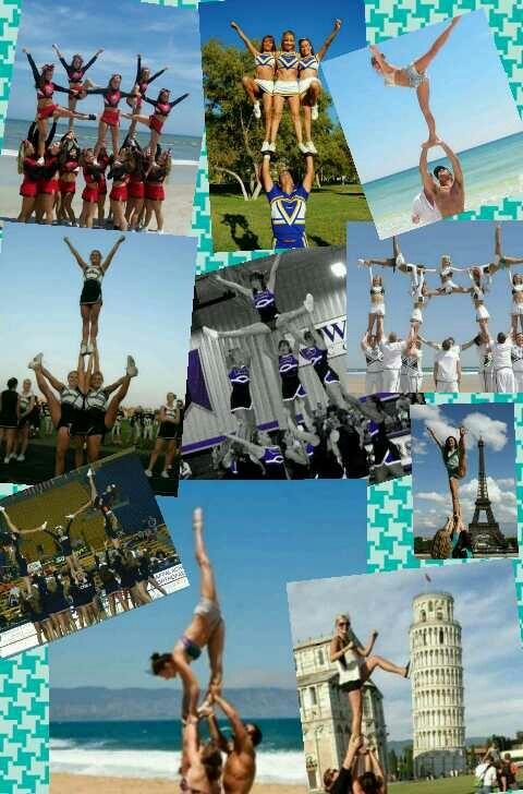 Cheer stunts...my favorite cheer stunts