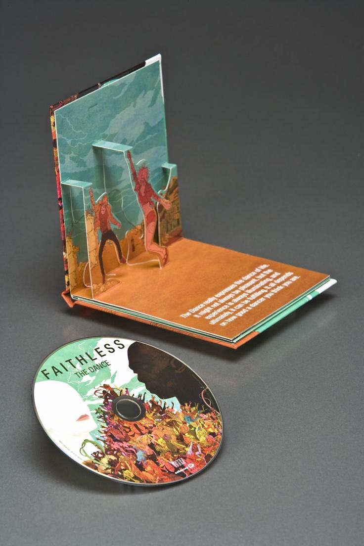 Faithless - The Dance (pop-up CD design)