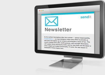 Send-it – online newsletter #send #newsletter #online http://delaware.nef2.com/send-it-online-newsletter-send-newsletter-online/  # Was ist «Send-it»? E-Mail-Newsletter sind kostengünstige und effiziente Kommunikationsmittel zur Kundenpflege. Halten Sie Ihre Kundschaft auf dem Laufenden mit dem Versand eines persönlichen E-Mail-Newsletters und berücksichtigen Sie dabei das Corporate Design Ihrer Firma. Mit Send-it – dem professionellen Newslettertool für erfolgreiches Online-Marketing –…