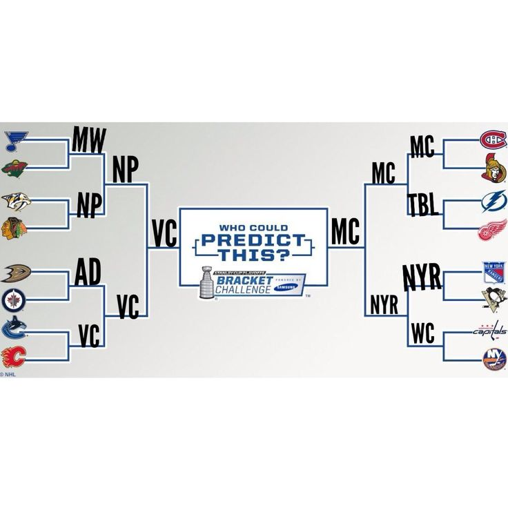 My 2015 NHL Playoff Bracket  -this is what I predict-