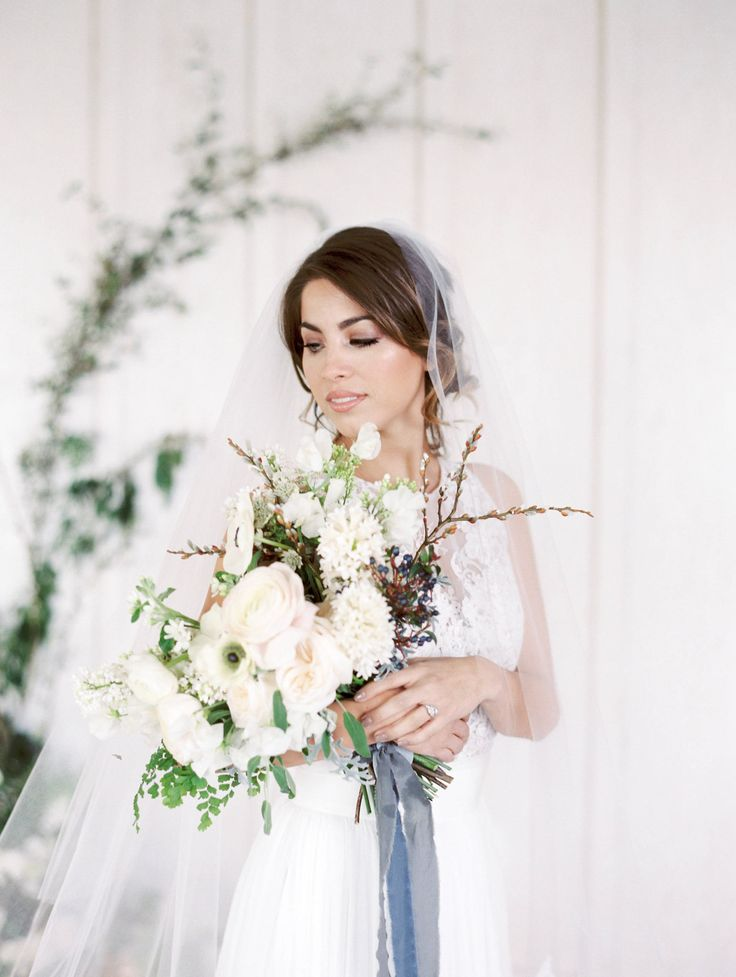 A Modern Sonoma Romance | Wedding Inspiration Editorial: Lea-Ann Belter Arabella top and Lily skirt via Lace & Bustle Bridal | Image: Jessica Kay Photography