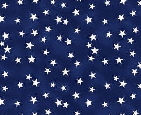 Blue stars fabric by the yard - blue fabric - patriotic fabric - QOV quilts of valor fabric - #15362 by BlueSheepBoutique on Etsy https://www.etsy.com/listing/239677449/blue-stars-fabric-by-the-yard-blue