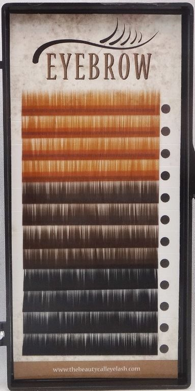 Straight Eyebrow Extension 3 Colors Light Brown, Dark Brown & Black .07/.10mm | Clothing, Shoes & Accessories, Women's Accessories, Other Women's Accessories | eBay!