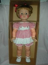 Vintage Ideal Baby Kissy Doll Mint in Box