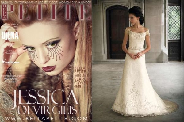 Difference Between Petite wedding gowns and regular gowns