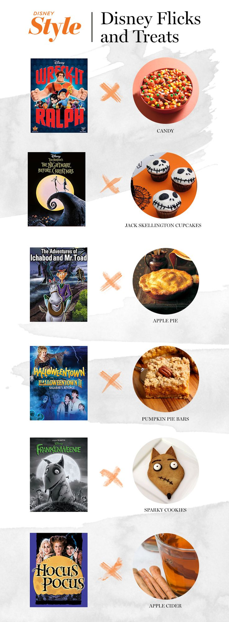 One of our favorite fall traditions is to host a Halloween movie night.