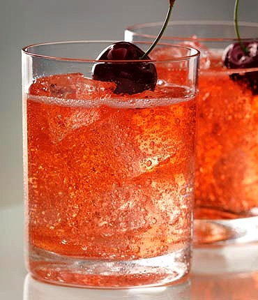 "A nice mixed drink ""Dirty Shirley"". x_x: Dirty Shirley, Cherries Moon, Cherries Vodka, Shirley Temples, Drinks, Cocktails Recipe, Lemon Lim, Grey Goo, Cherry Vodka"