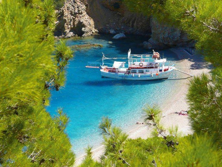This is all we need... - #Karpathos , #Appela beach #YachtcharterGriechenland #YachtcharterDodekanes