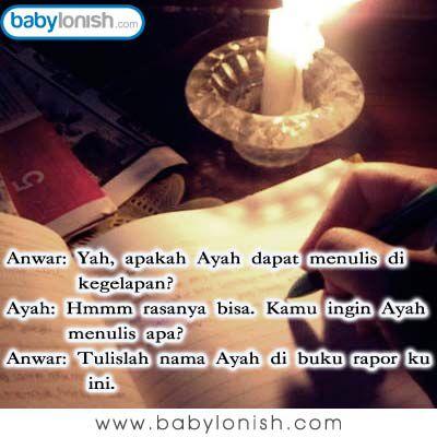 Selamat pagi... Inilah humor seputar keluarga.  Have a nice day and let's get the weekend started.  www.babylonish.com