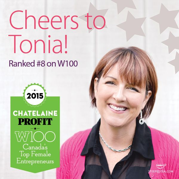 Congratulations to our Founder, Tonia Jahshan! She just ranked #8 on the W100 list of Canada's Top Female Entrepreneurs.