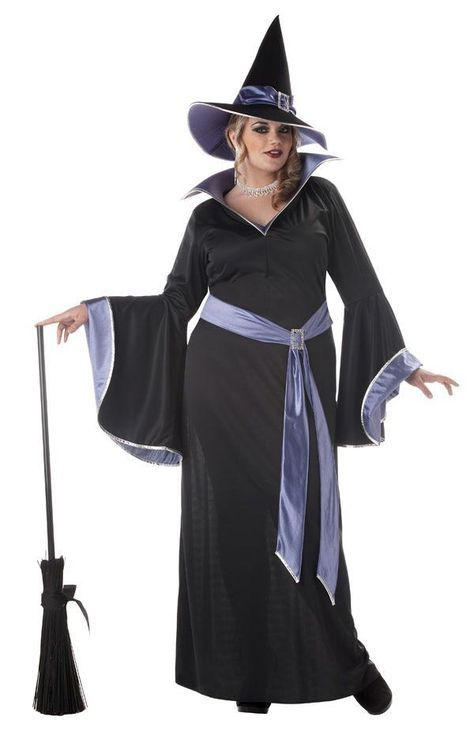 the witch plus size halloween costumes