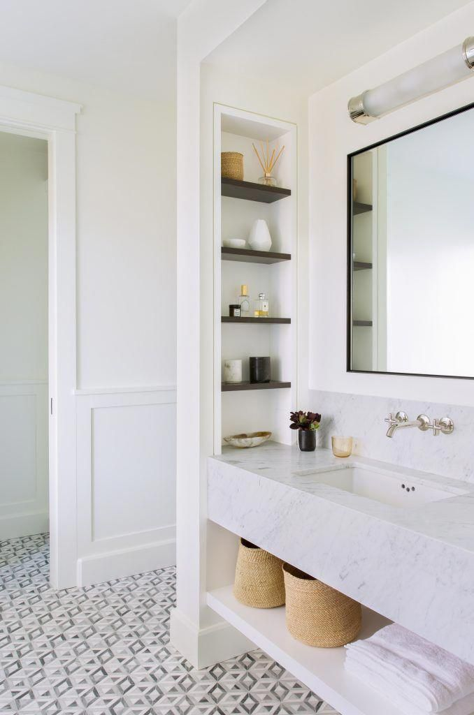If You Re Embarking On A Bathroom Remodel Don T Overlook Spots With Storage Potential If Possible Add Bathroom Interior Bathroom Design Beautiful Bathrooms