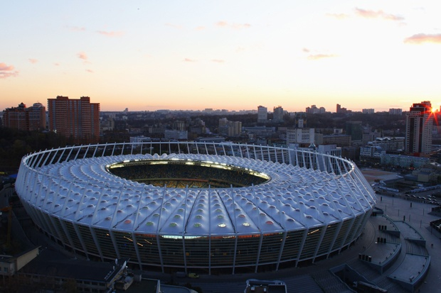 Estadio Olímpico de Kiev (60.000 espectadores) - Ingrid Irribarren.