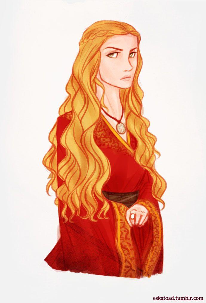 Cersei Lannister by Eskatoad on Tumblr