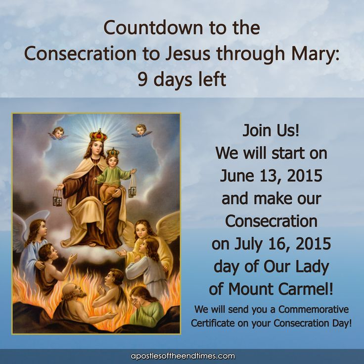 9 DAYS LEFT! JOIN US http://www.apostlesoftheendtimes.com/#!next-consecration/c1n0a