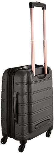 Amazon.com | Rockland Luggage Melbourne 20 Inch Expandable Abs Carry On Luggage, Black, One Size | Carry-Ons