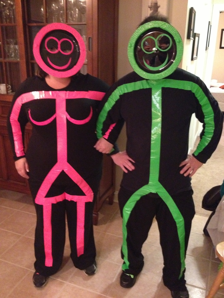 Our Stick Figure Halloween Costumes!