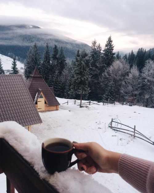 that morning view | enjoy your coffee in the mountains