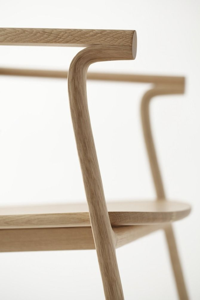 Detail of the Splinter Collection by Nendo.
