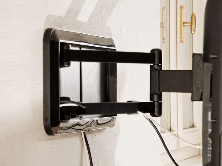 Le 25 migliori idee su muro dietro la tv su pinterest - Supporto tv motorizzato meliconi ...