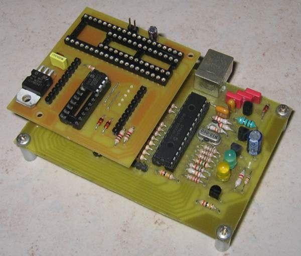 Open Programmer - USB programmer for PIC, EPROM, ATMEL, SPI