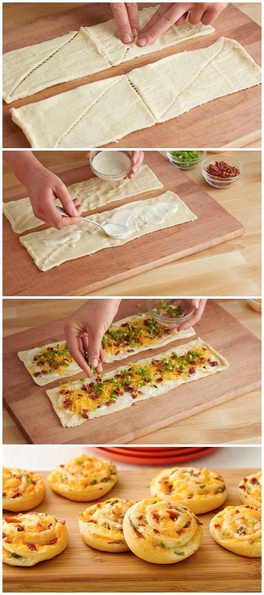 Ranch dressing perks up a crowd-pleasing, cheesy crescent appetizer. Prep time: 15 min Total time: 35 min Servings: 16 INGREDIENTS: 1 can (8 oz) Pillsbury™ ...